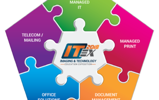 ITEX 2018: Own the Office, Piece by Piece Colorful Puzzle