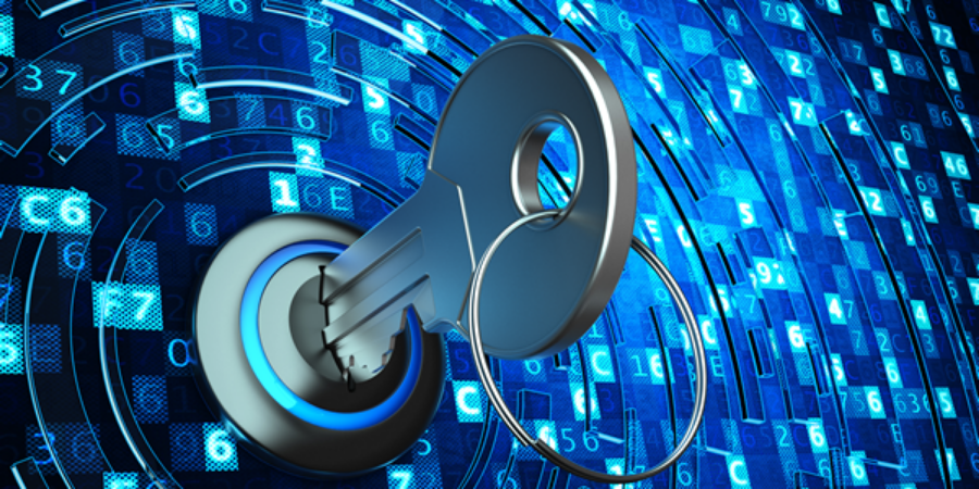 Key unlocking technological data