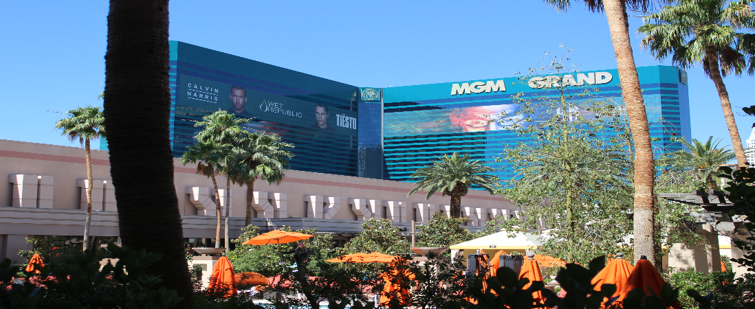 MGM Grand Hotel in Las Vegas, Nevada