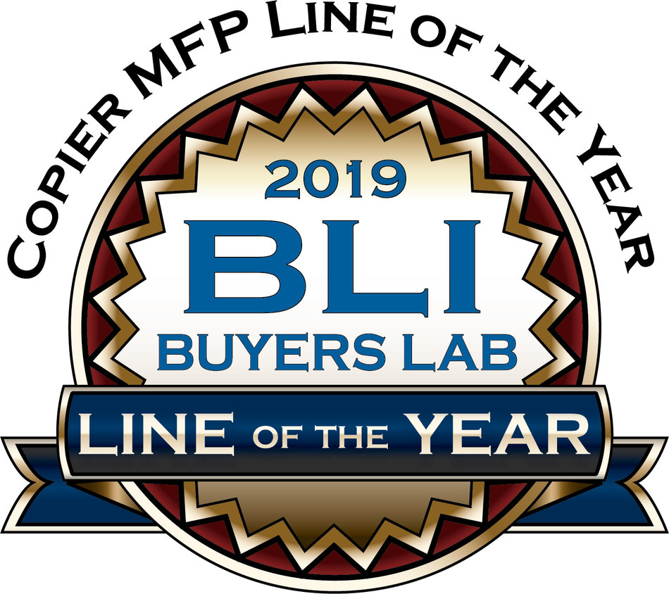 2019 BLI Buyers Lab Copier MFP Line of the Year Logo