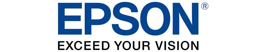 Epson logo in blue