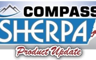 compass and sherpa logos