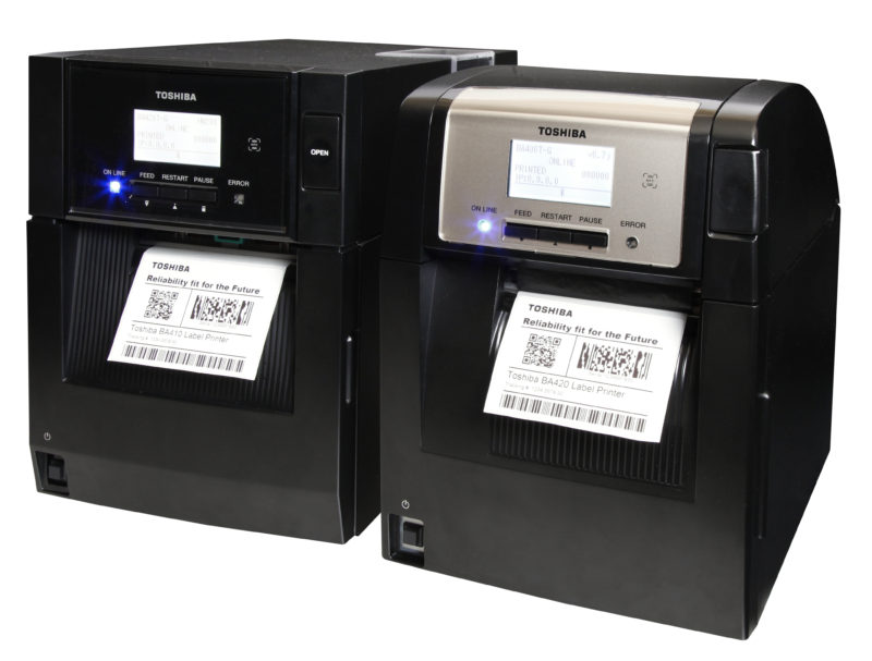Ba400 label printer