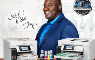 Shaq with Canon